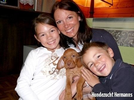 1. Foto mit neuer Familie